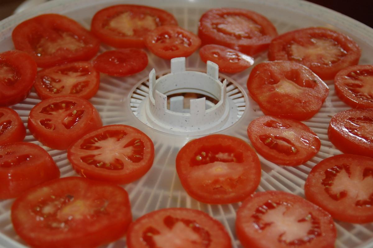Drying Veggies, Like Tomatoes