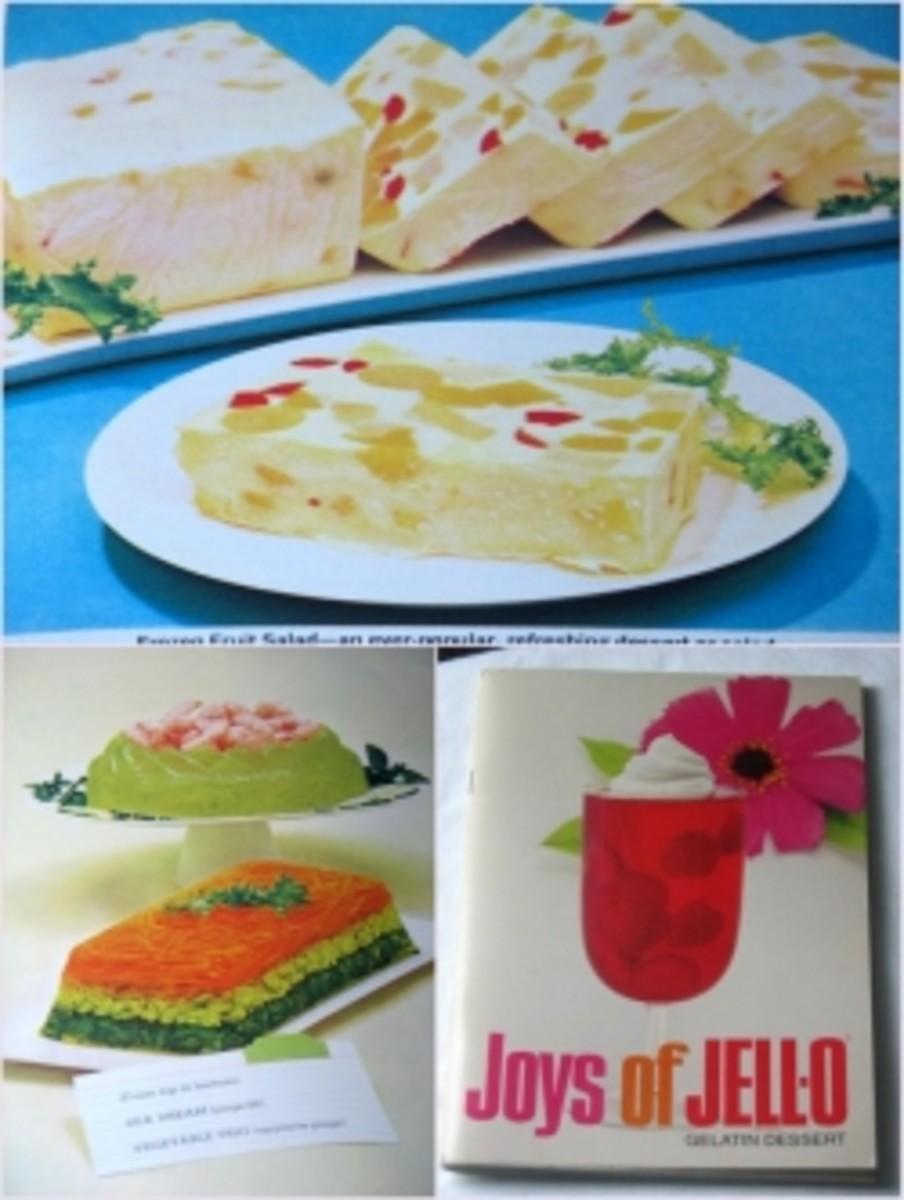 Vintage Jello recipe book
