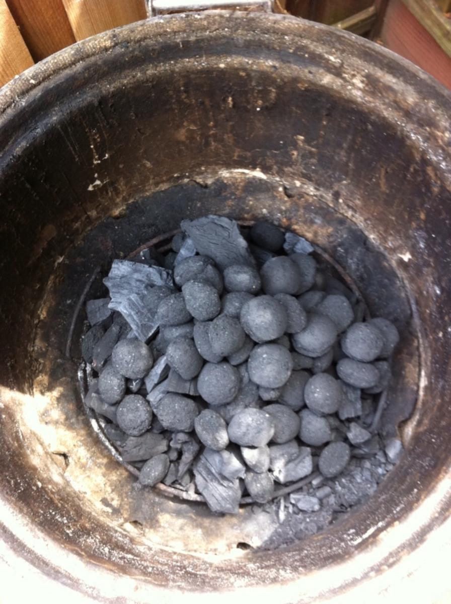 Charcoal Coals