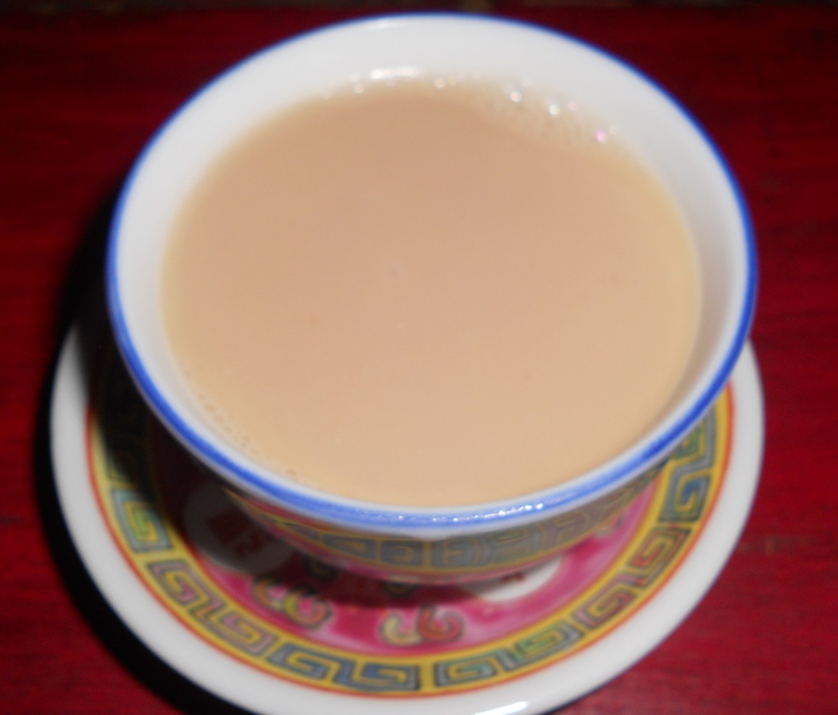A cup of warm butter tea to cure what ails you.