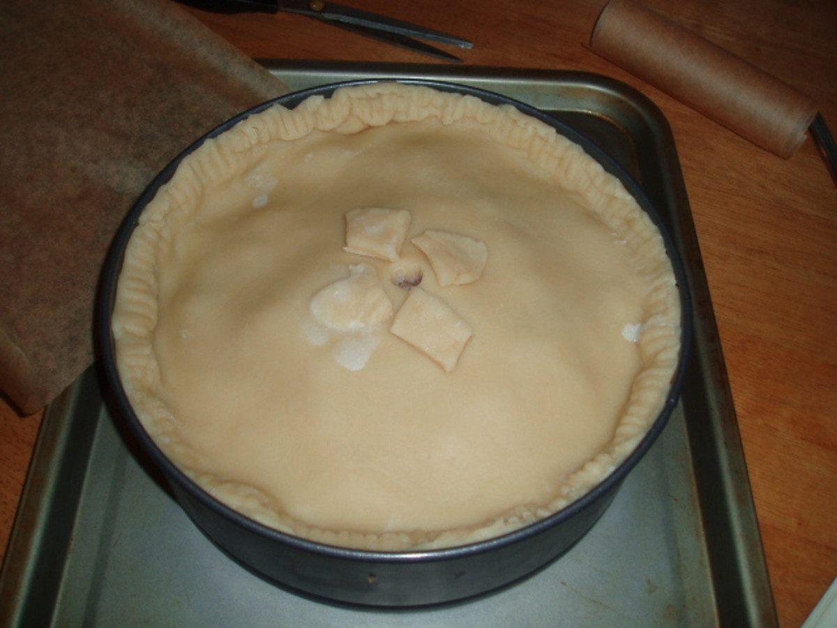 READY FOR THE OVEN HOT WATER CRUST PASTRY