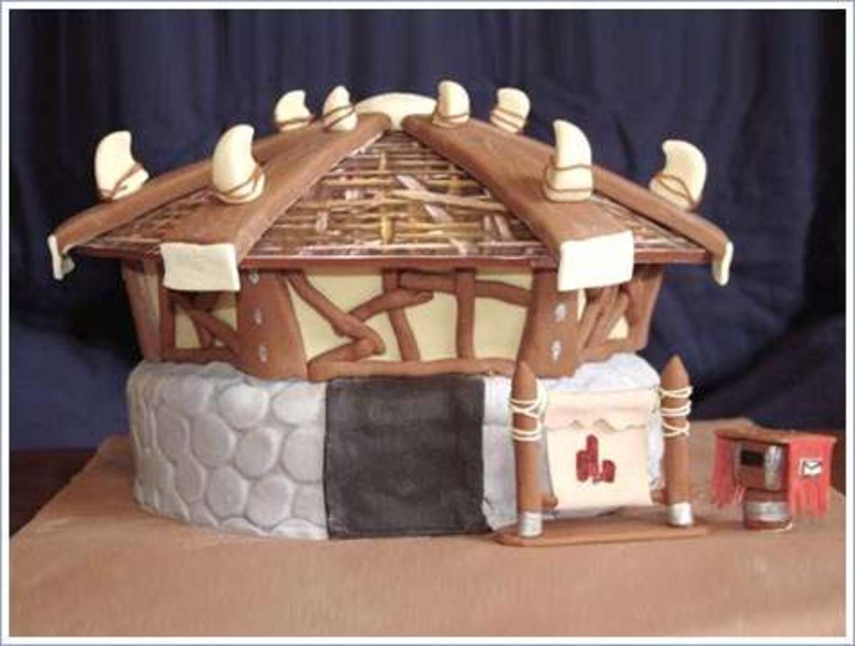 World of Warcraft (Orgrimmar auction house) cake
