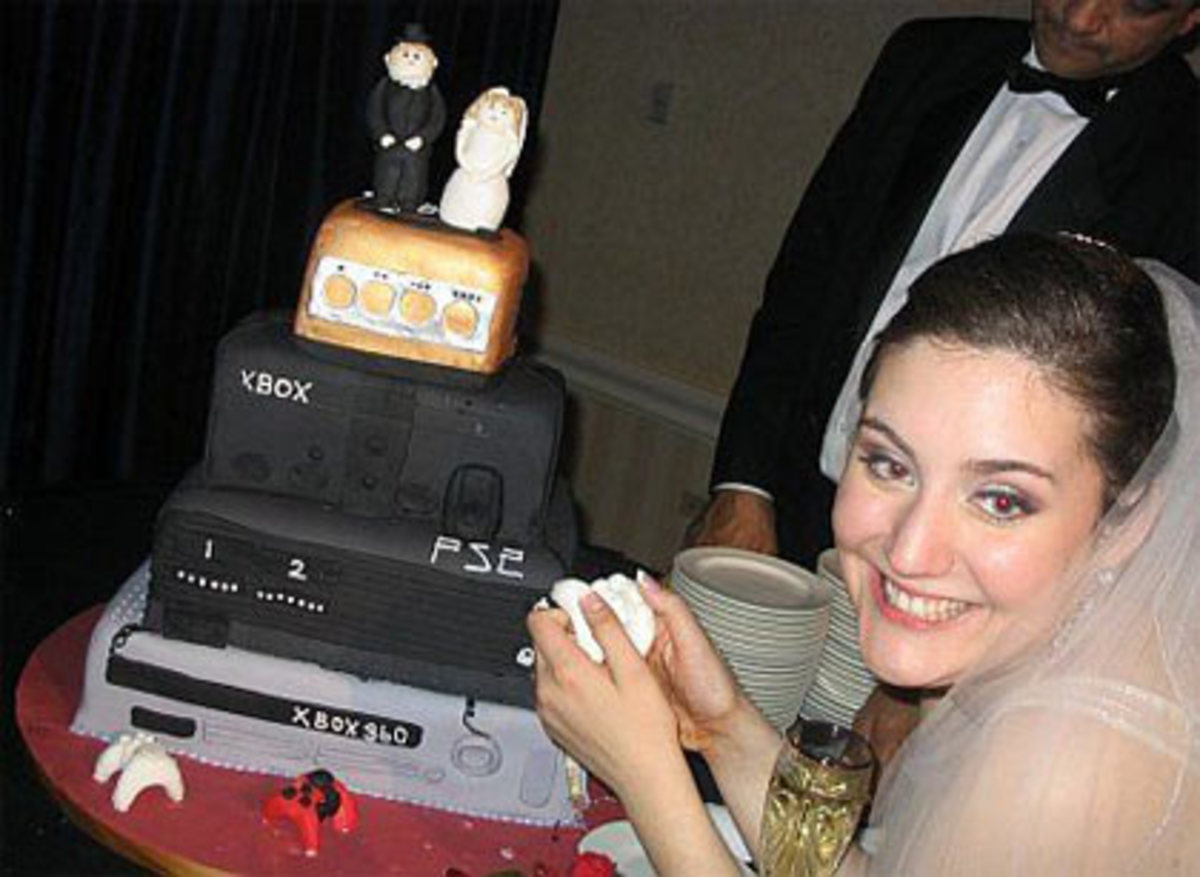 This is an awesome cake for gamers