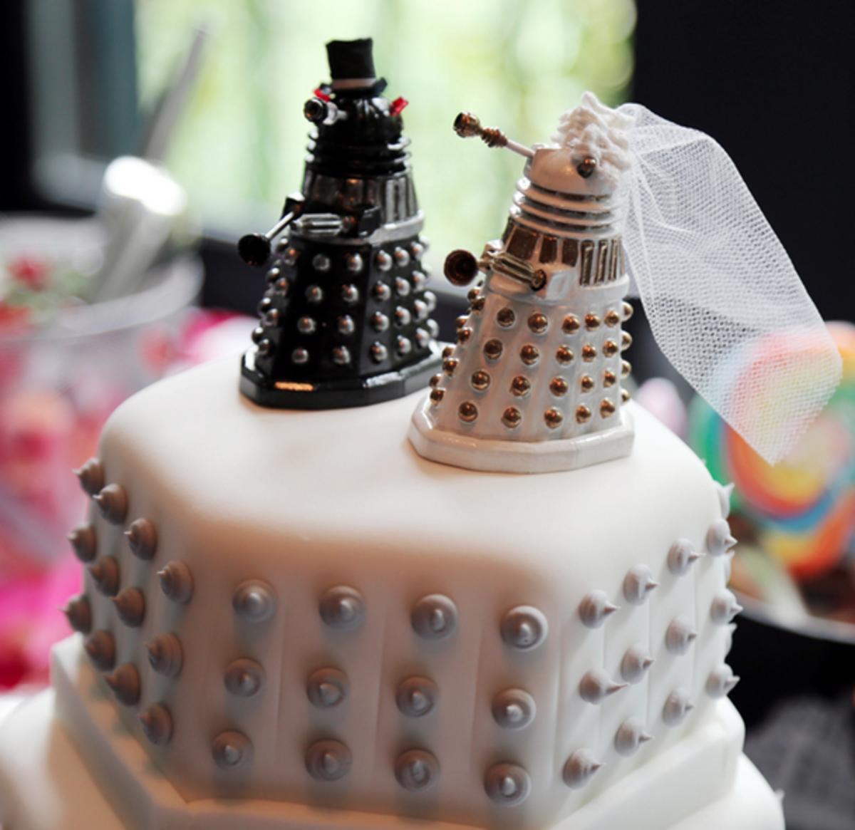 Dalek wedding cake