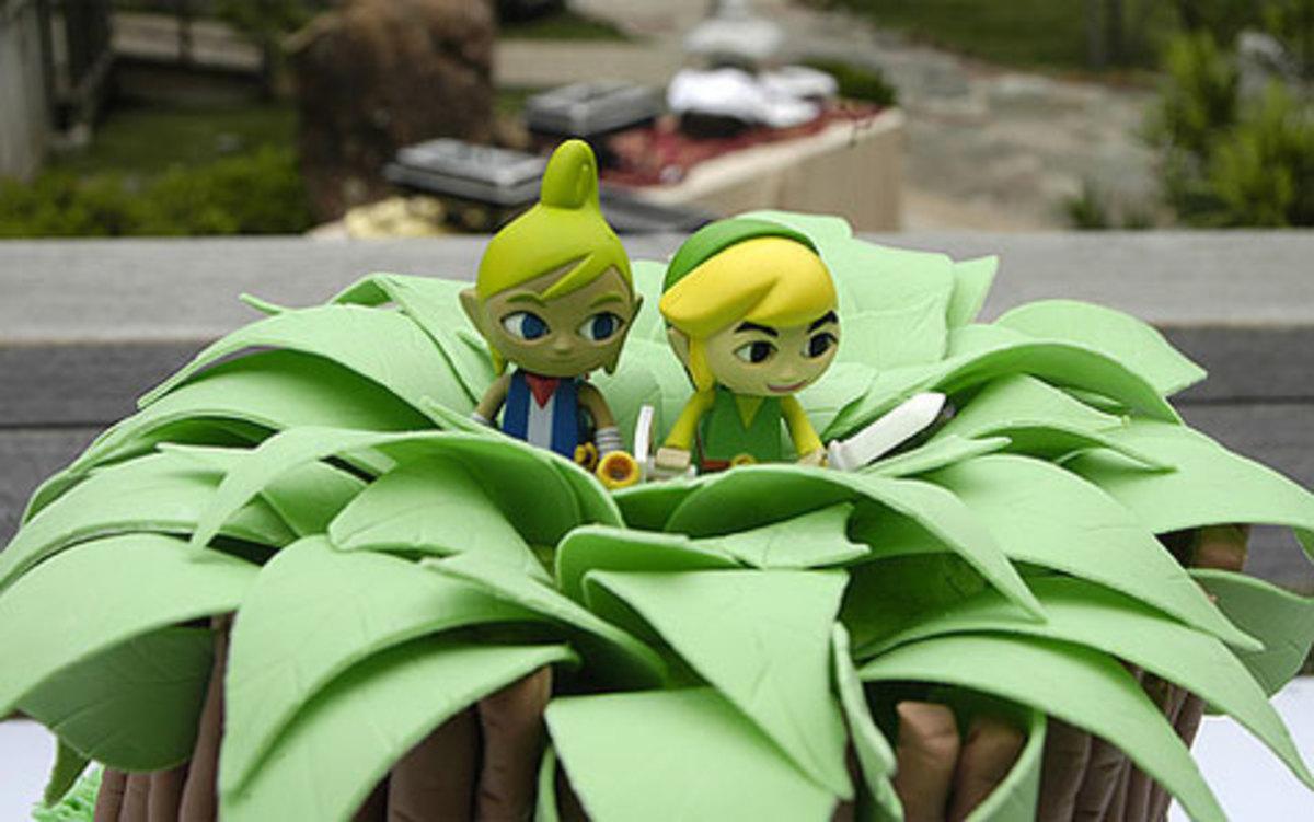 Zelda Windwaker cake