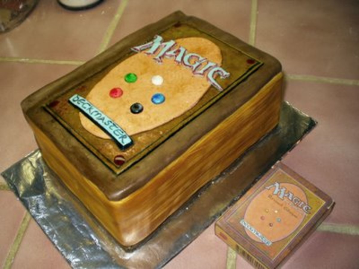 Magic: The Gathering cake