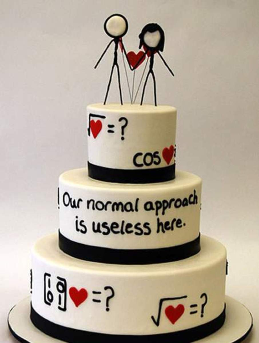 This cake is pulled right from the XKCD comic: Useless. While this particular comic does not contain XKCD stick figures, this cake makes wonderful use of XKCD figures to create a perfect cake topper. Pretty awesome, if you ask me!