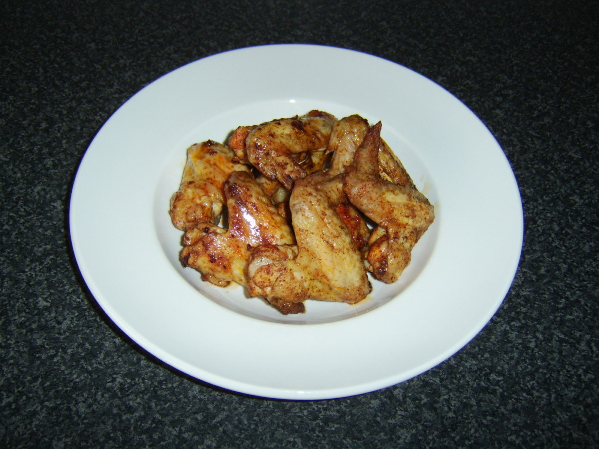 Salt and Spicy Chicken Wings