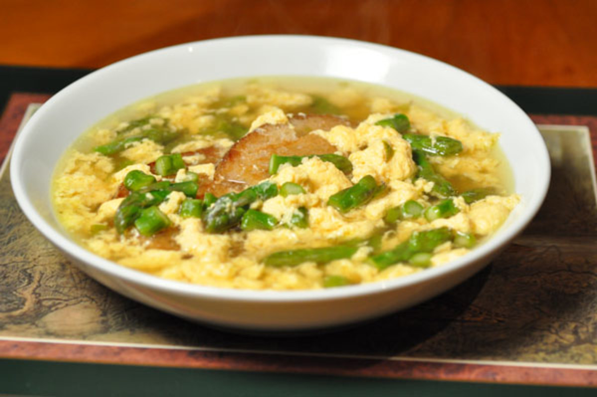 Zuppa di Asapargi Image:  Siu Ling Hui