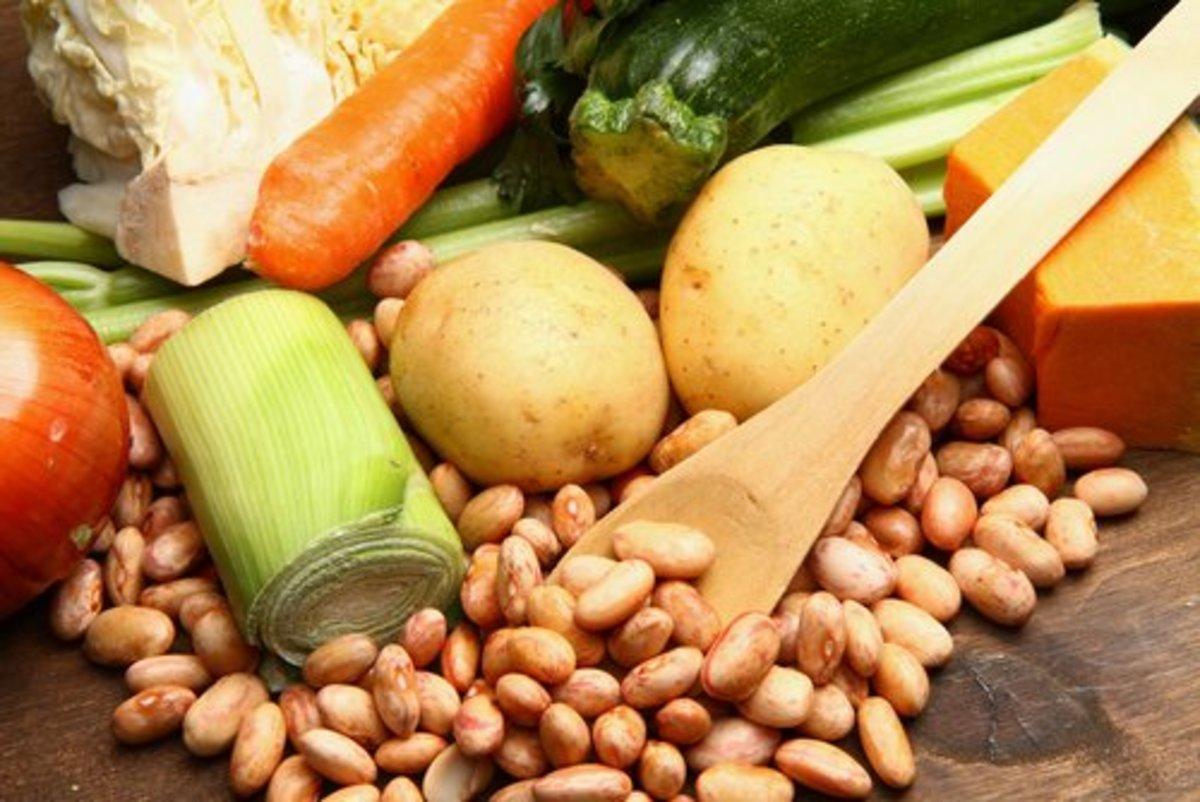 Ingredients for Minestrone  Isantilli|Shutterstock.com