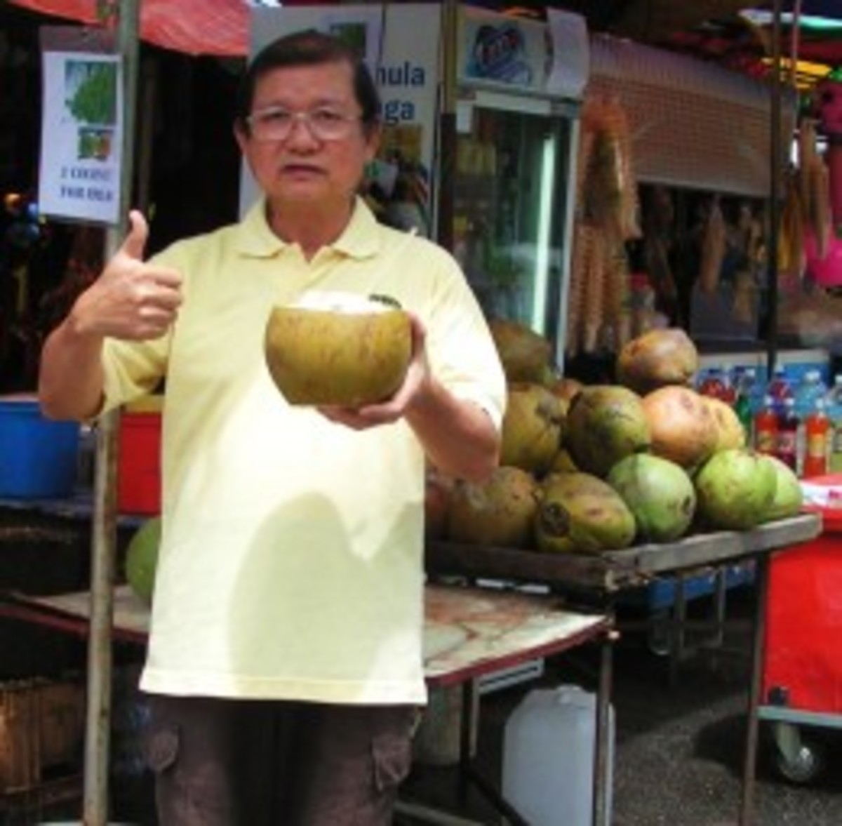 The best thirst quencher to cool down the body after a feast of durians