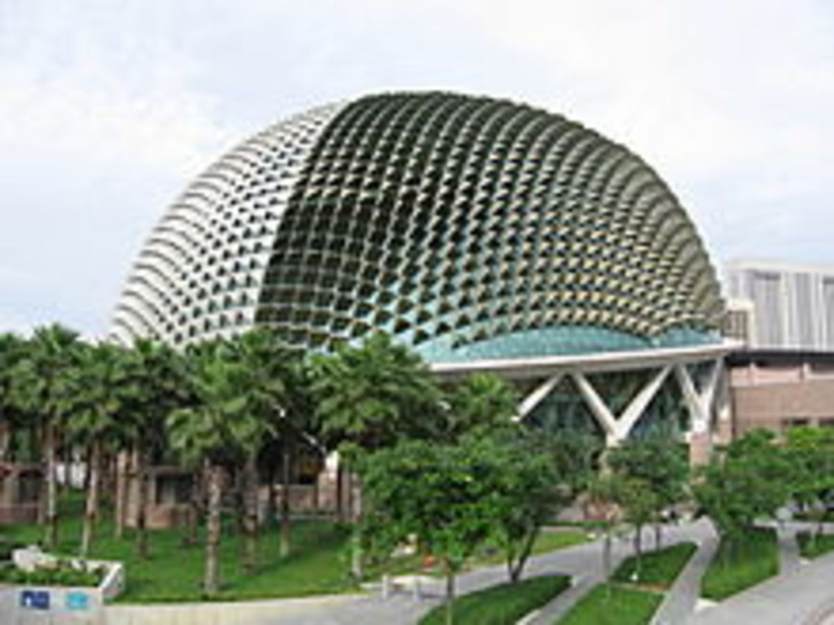 The Esplanade in Singapore: The Metal Durian