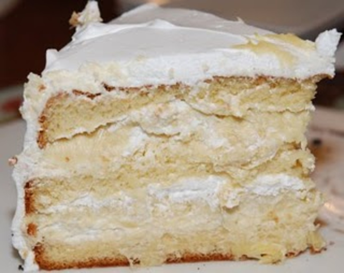 One of the Western-Type Durian Cakes