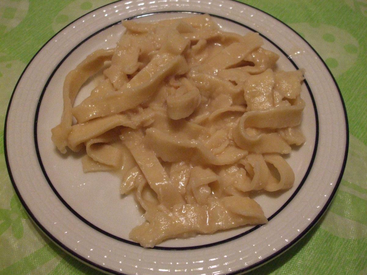 Gramma Morgan's Noodles