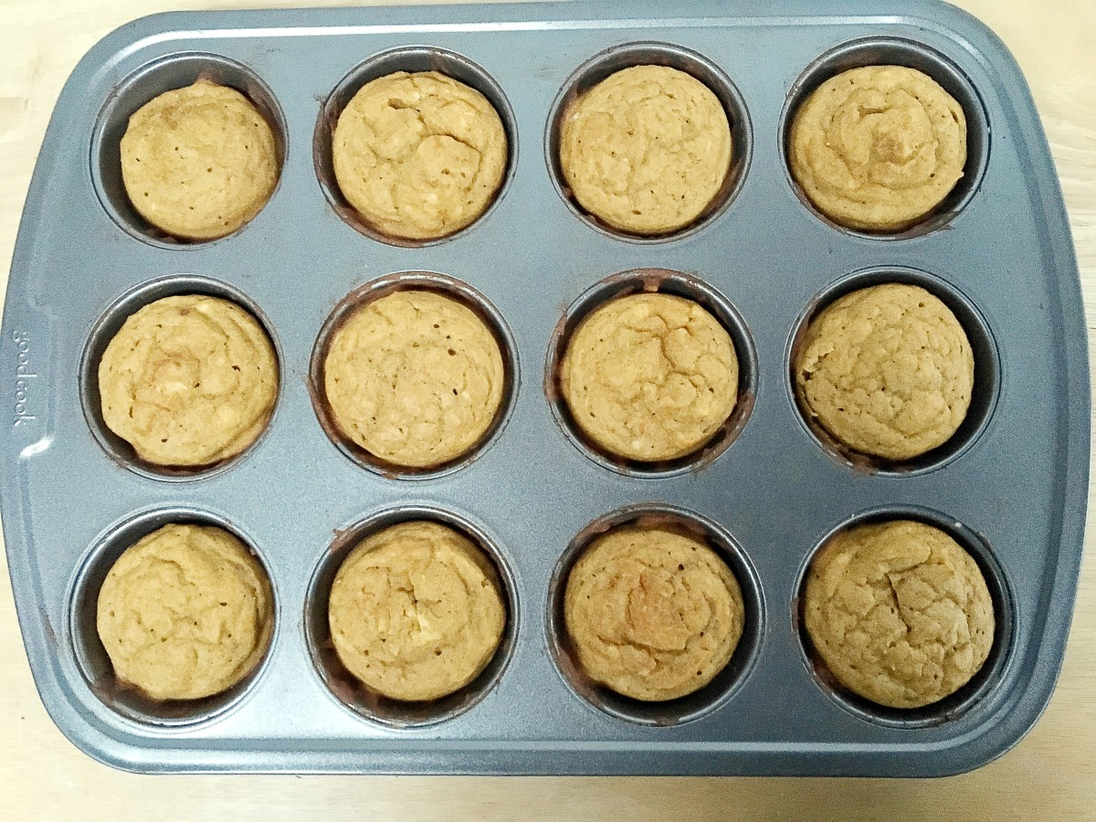 Freshly-baked muffins