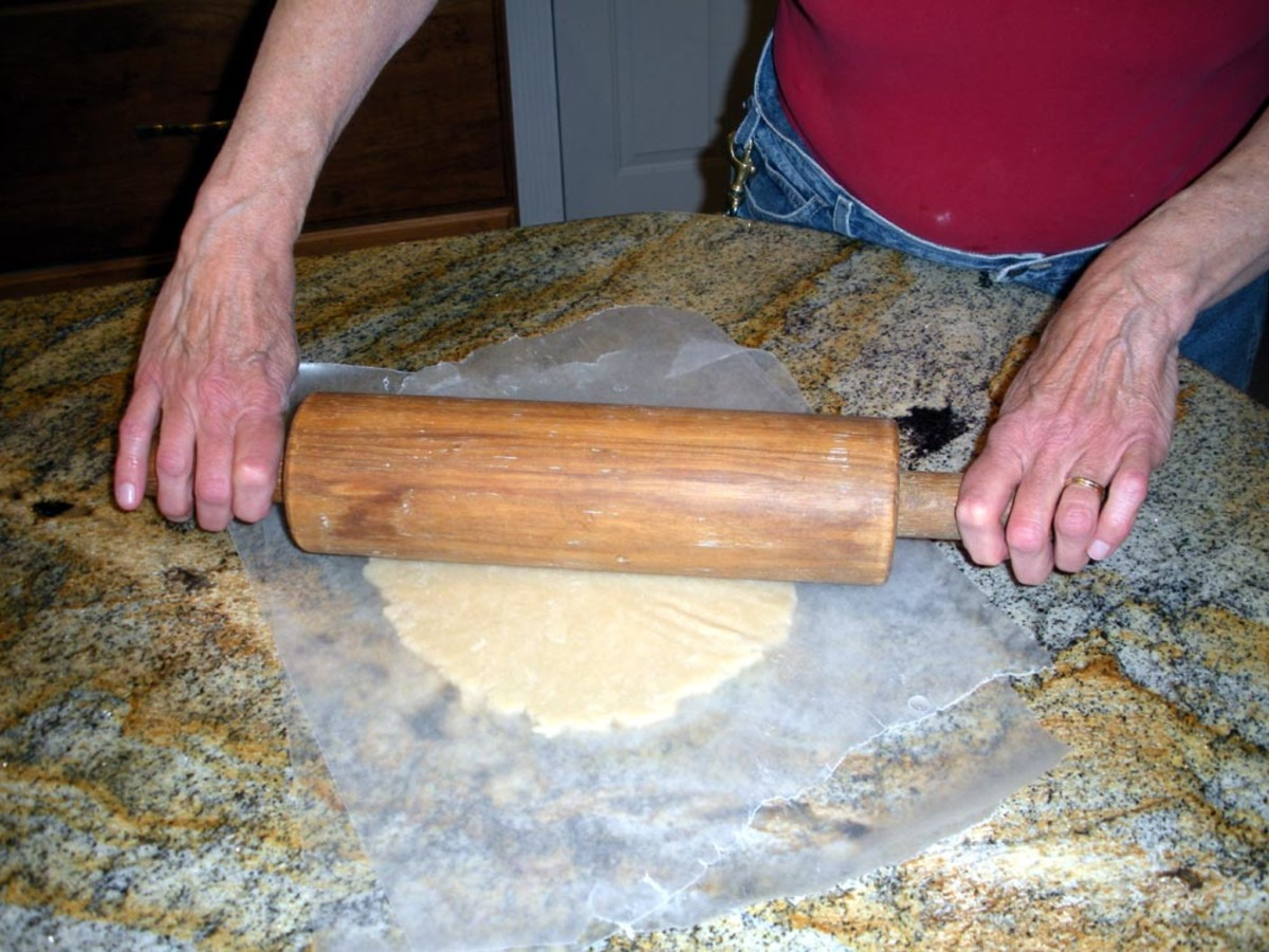 The rolling pin doesn't even get dirty
