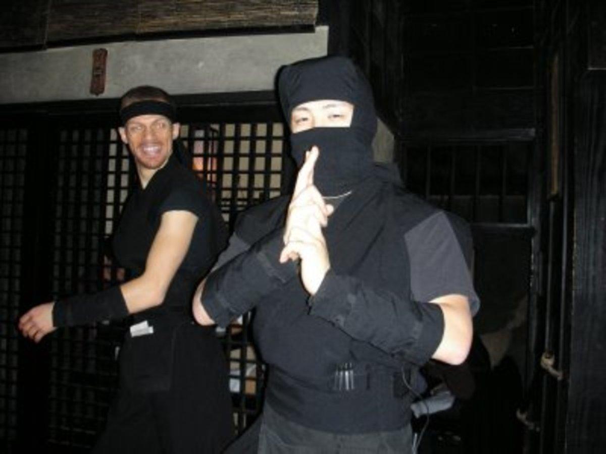 Ninjas.