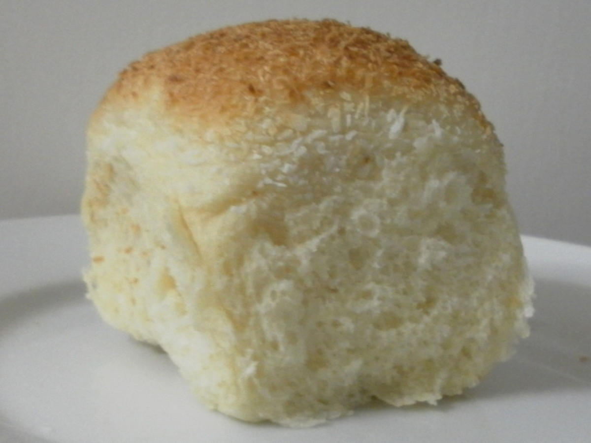 Soft bread bun - get free recipe here