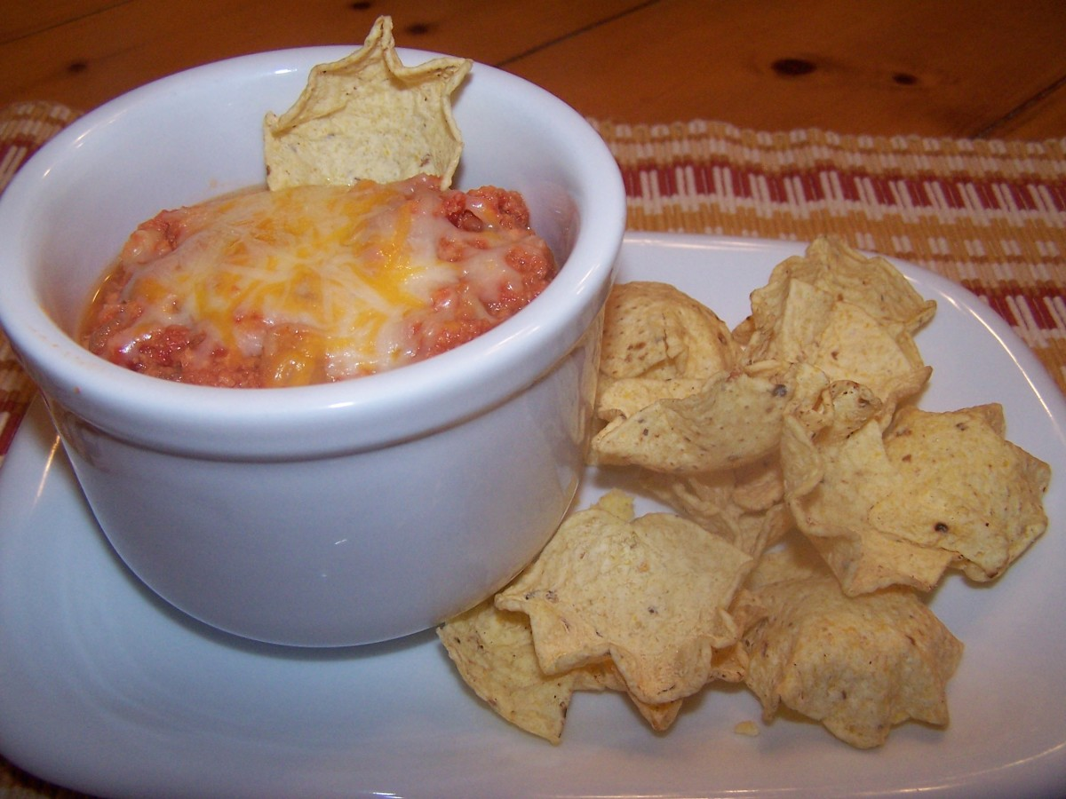 Turkey Chili is good with corn chips.
