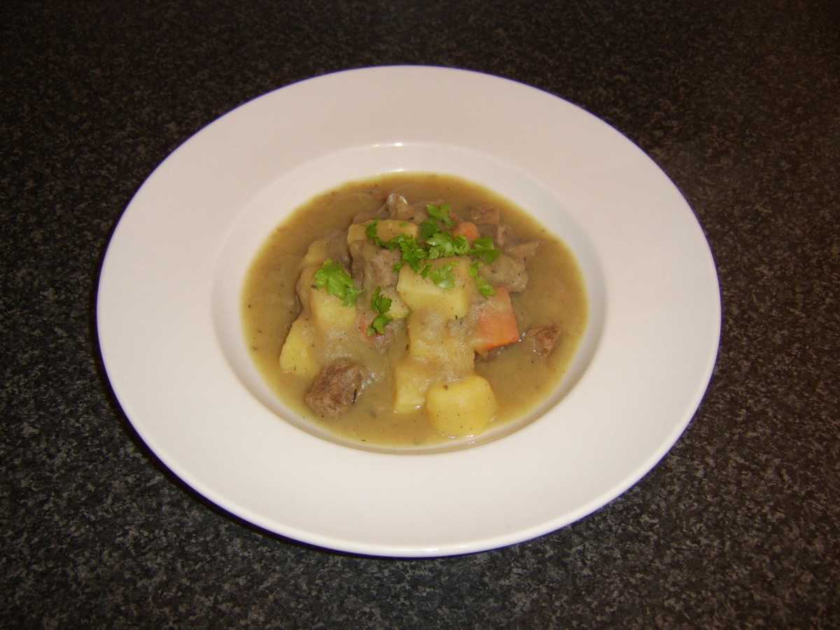Parsnip forms a prominent part of this one pot beef and root vegetable stew