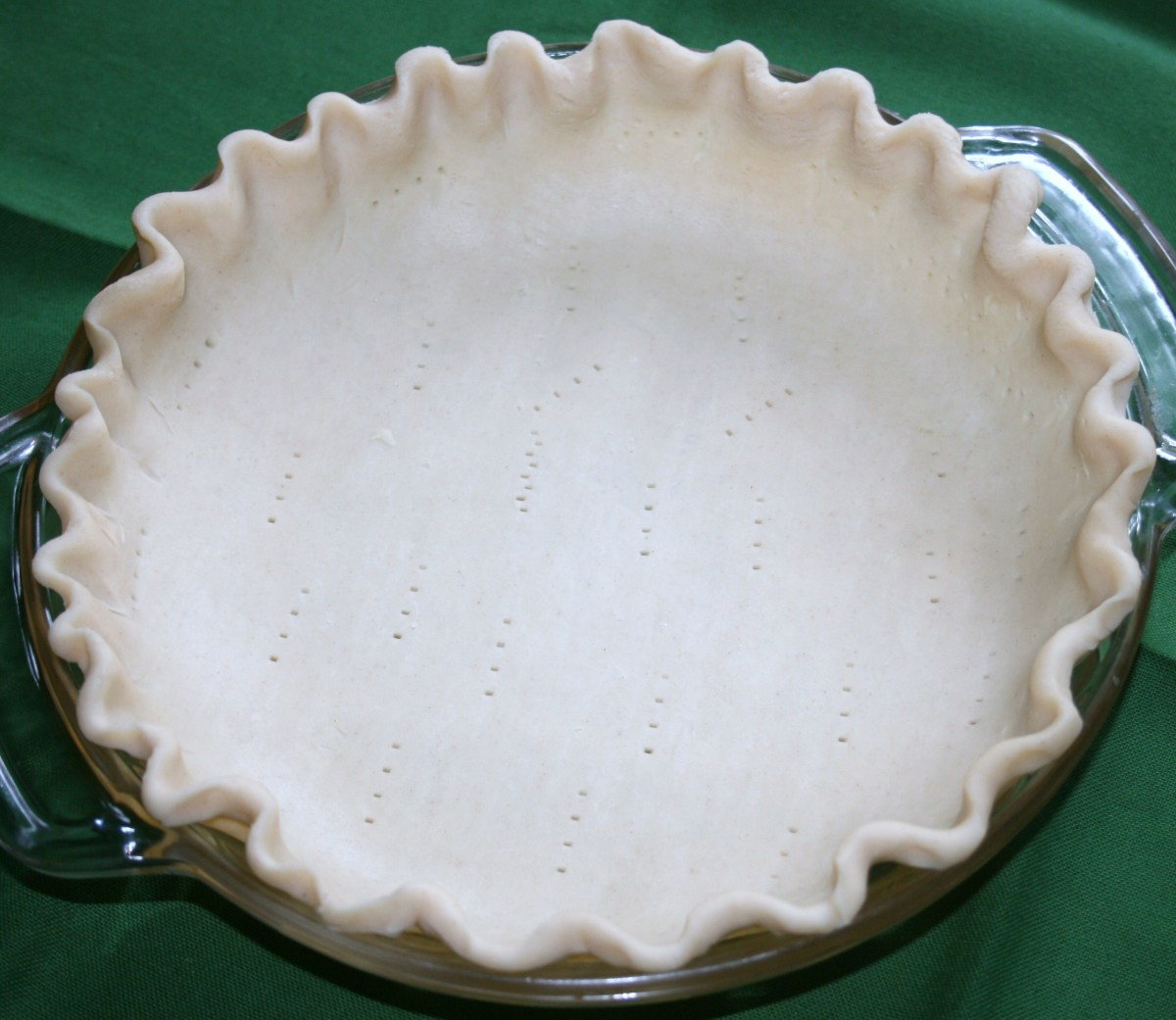 Easy Hot Water Pie Crust