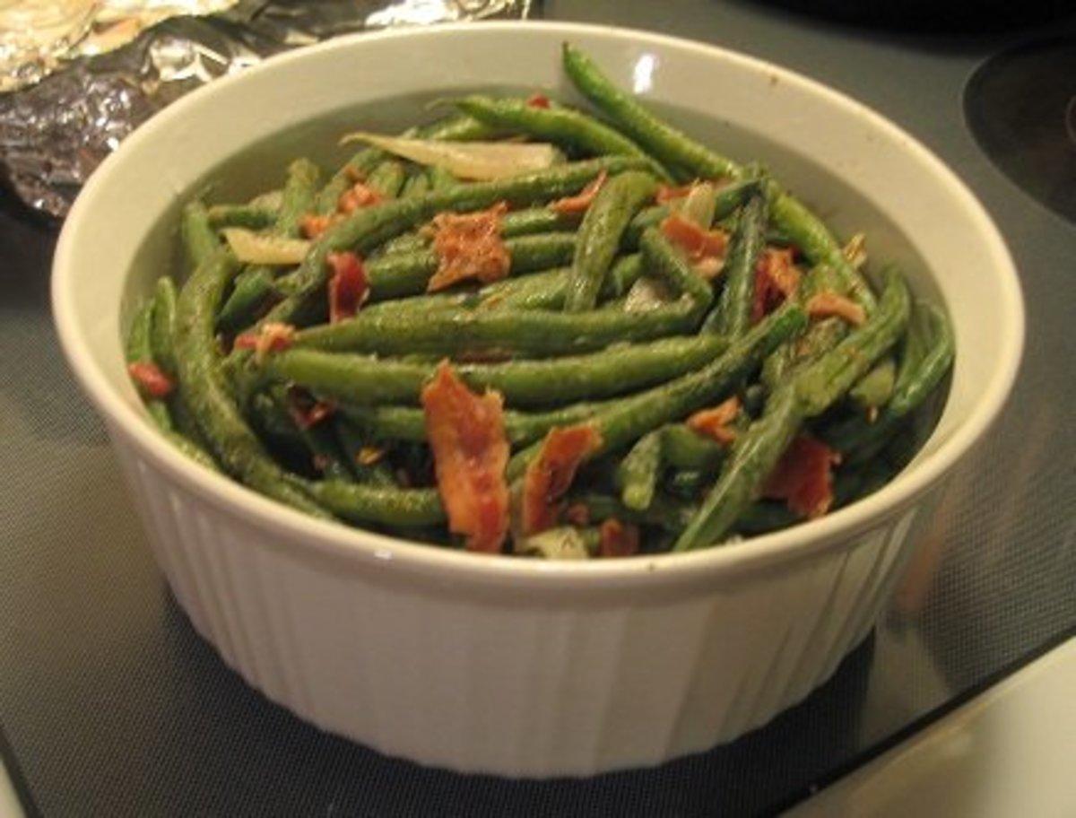 Healthy Green Bean Casserole (Splashed With Cider Vinegar)