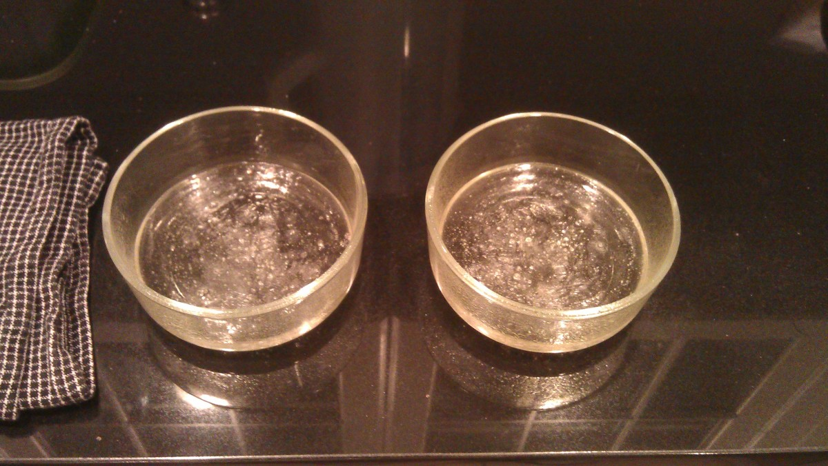 Two pucks cooling down.
