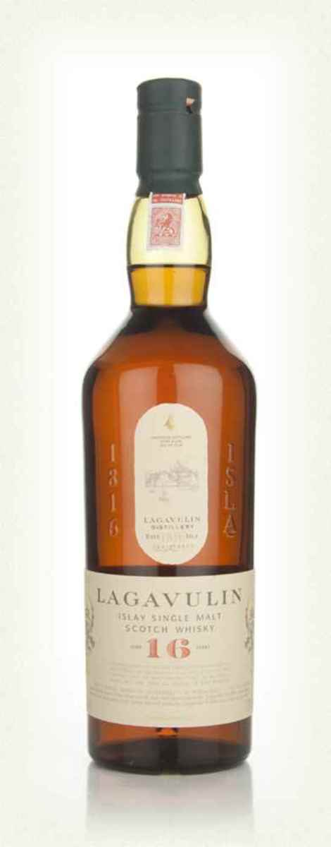 Quite possibly the smokiest of the single malts, Lagavulin is a powerful and peaty single malt whisky from the island of Isla. The finish is long and glorious with plenty of smoke and a hint of figs.
