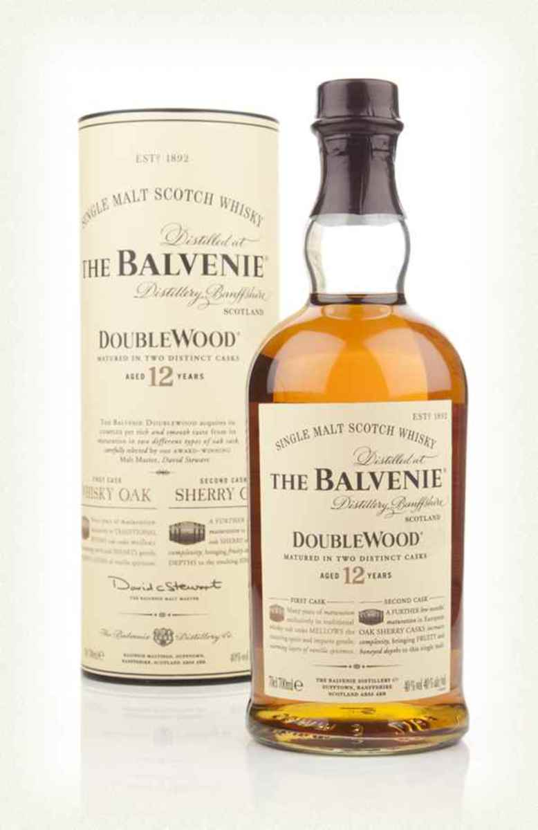 Balvenie DoubleWood 12 Year Old. This classic single malt Scotch whisky is great for converting non-whisky drinkers in my experience, thanks in part to its long, sweet and spicy finish.