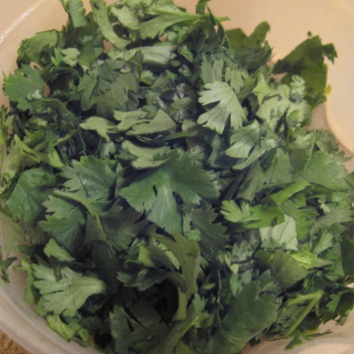 Chopped fresh cilantro