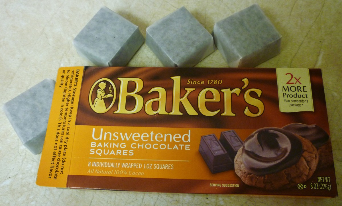 Unsweetened Baker's chocolate squares