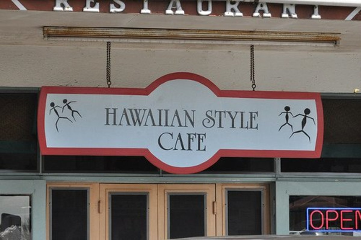 The Hawaiian Style Cafe may look small, but it's helpings are quite the opposite.