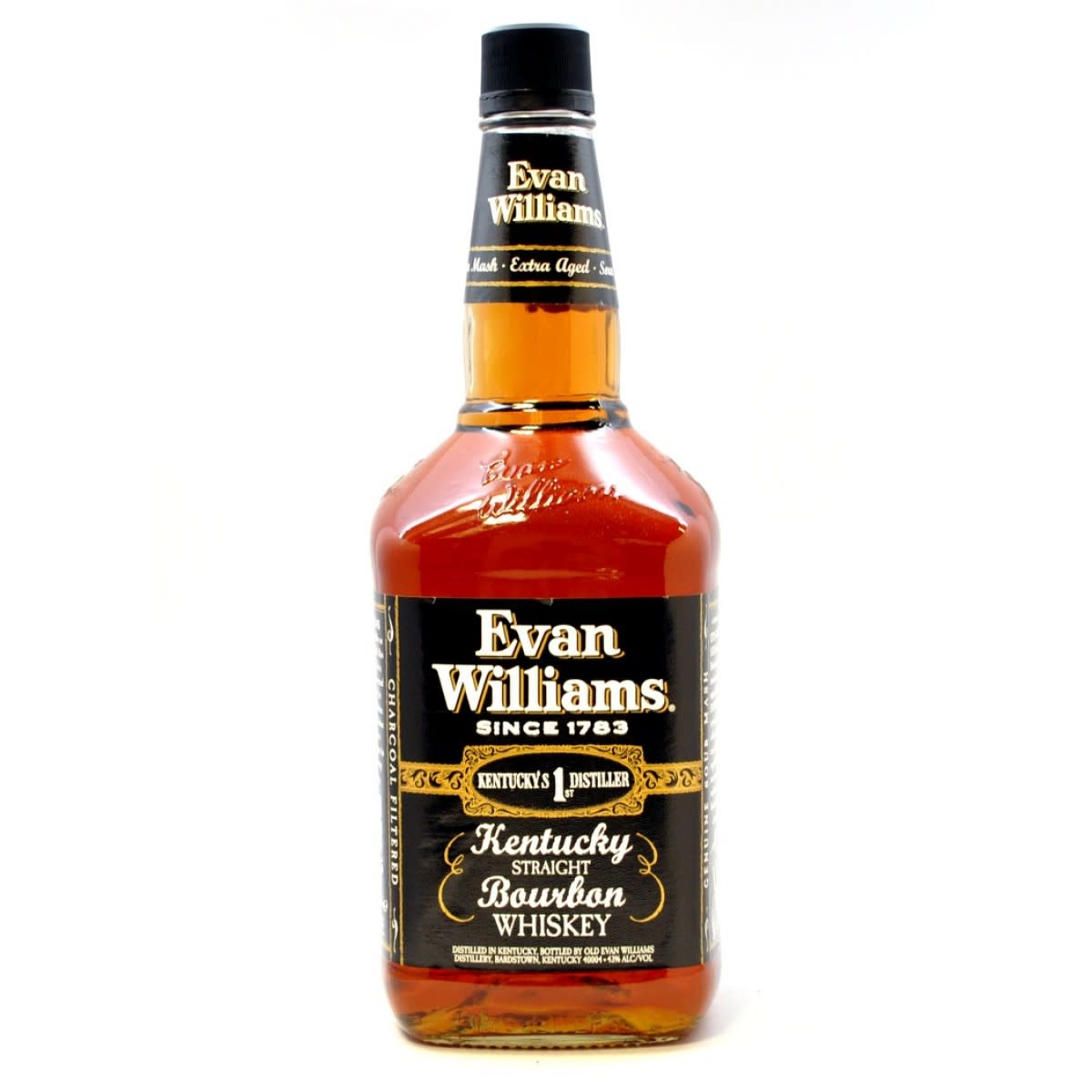 Evan Williams Black Label is highly drinkable for its price.