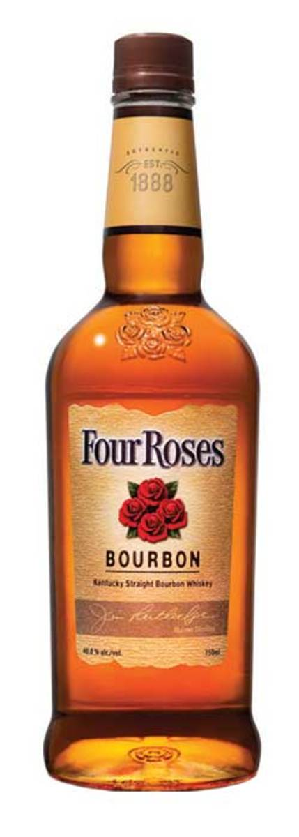Four Roses is a mellow-tasting, easygoing, whiskey that's great for mixing.