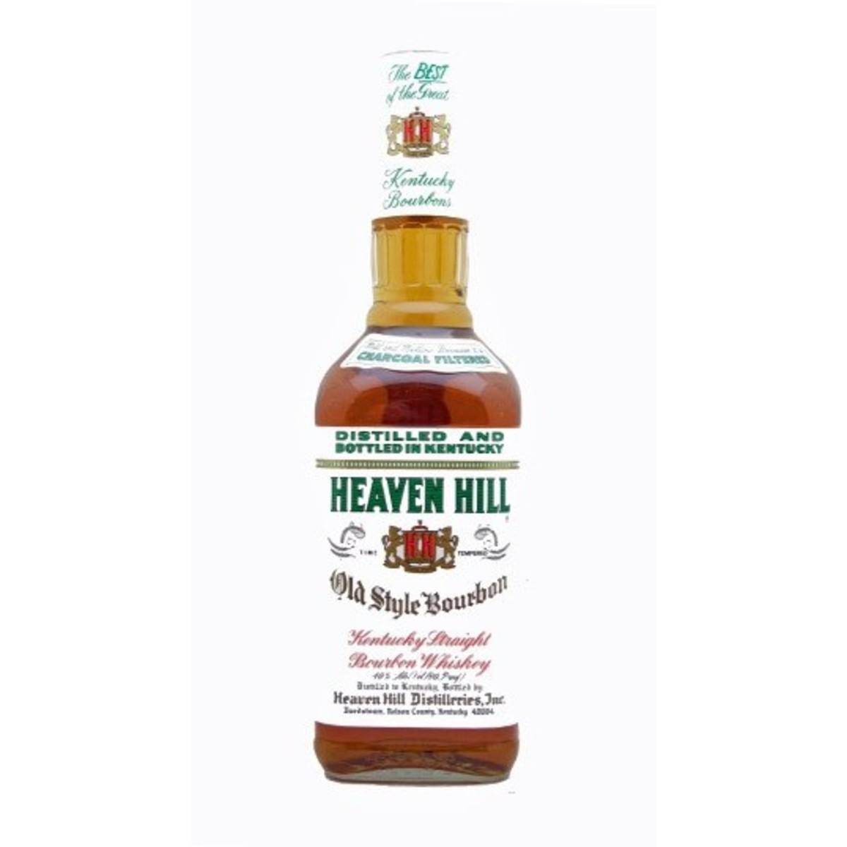 Heaven Hill White Label is aged for six years and offers excellent value for its price.