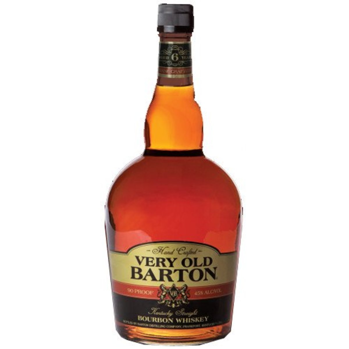 The best thing about Very Old Barton 80-proof, apart from the exceptionally affordable price, is the silky smooth sugary taste.