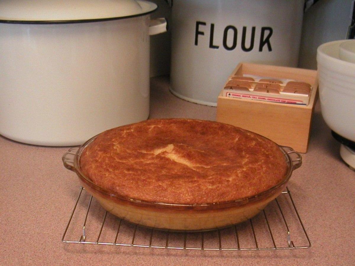 Fresh Baked Butternut Squash Pie