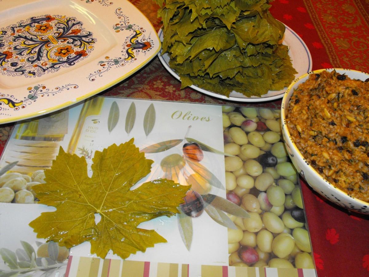 Armenian Stuffed Grape Leaves (Yalanchi Sarma) Recipes — Dishmaps