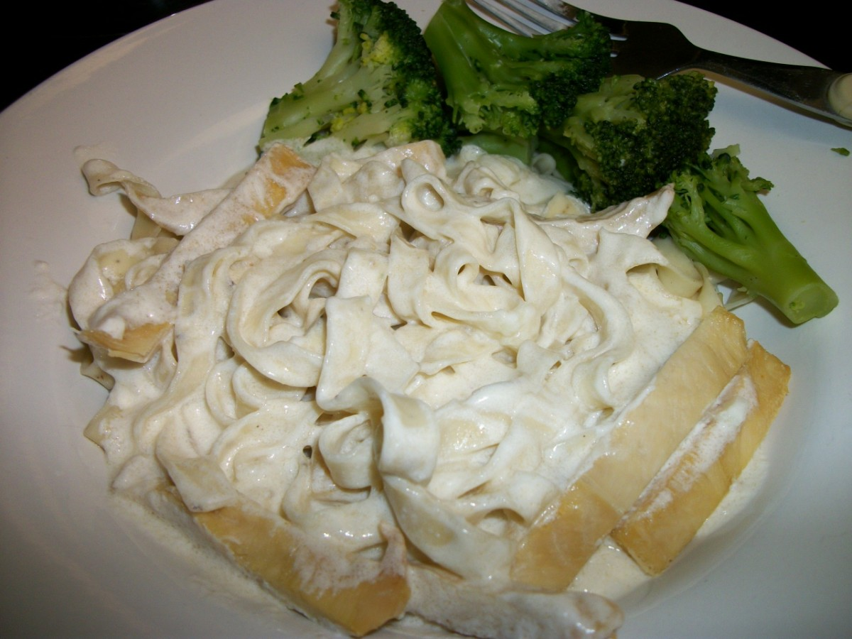 Turkey and Broccoli Fettuccini