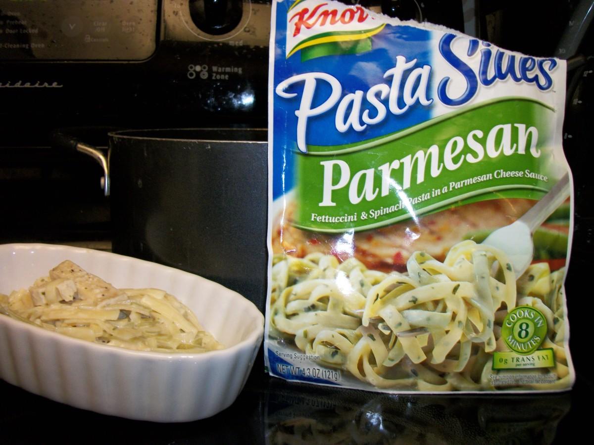 Parmesan Noodles with Turkey