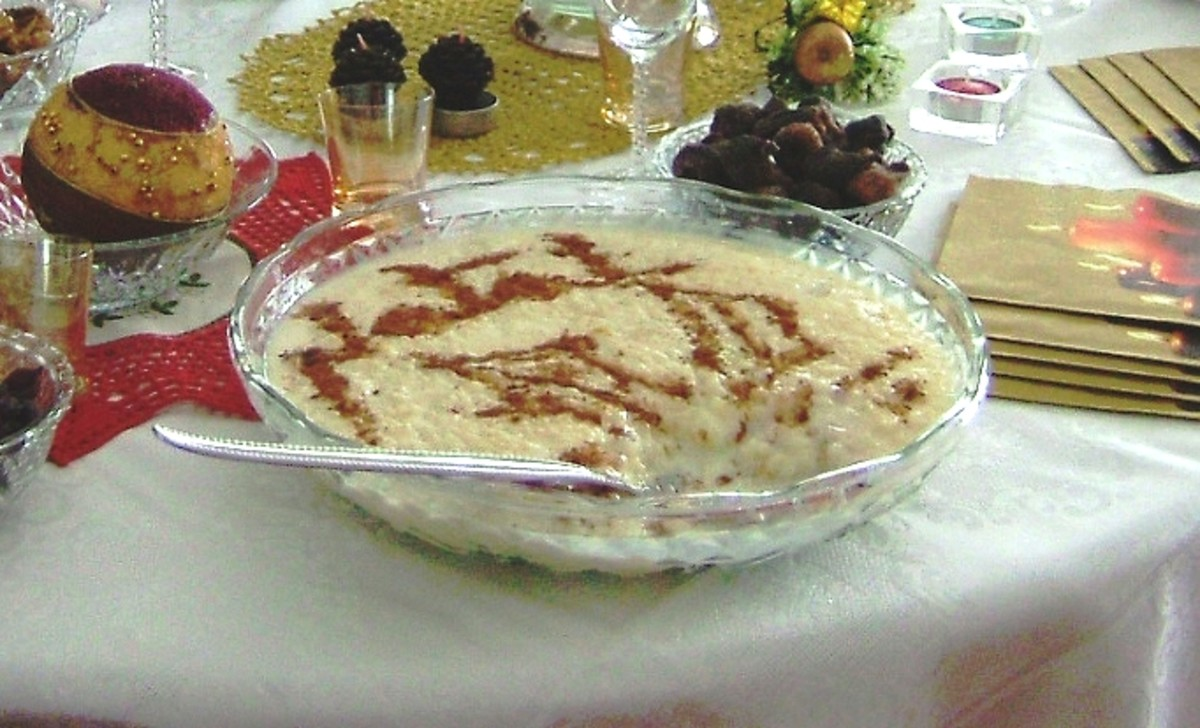 Arroz doce (sweet rice)