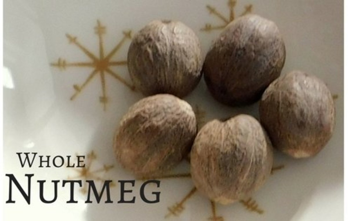 Nutmeg is a key ingredient in these cookies, giving them a nutty, spicy kick.