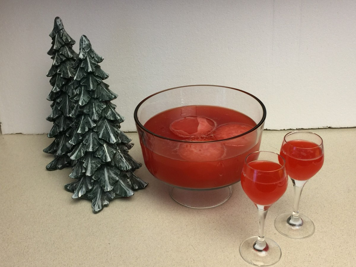 Holiday Punch ready to serve