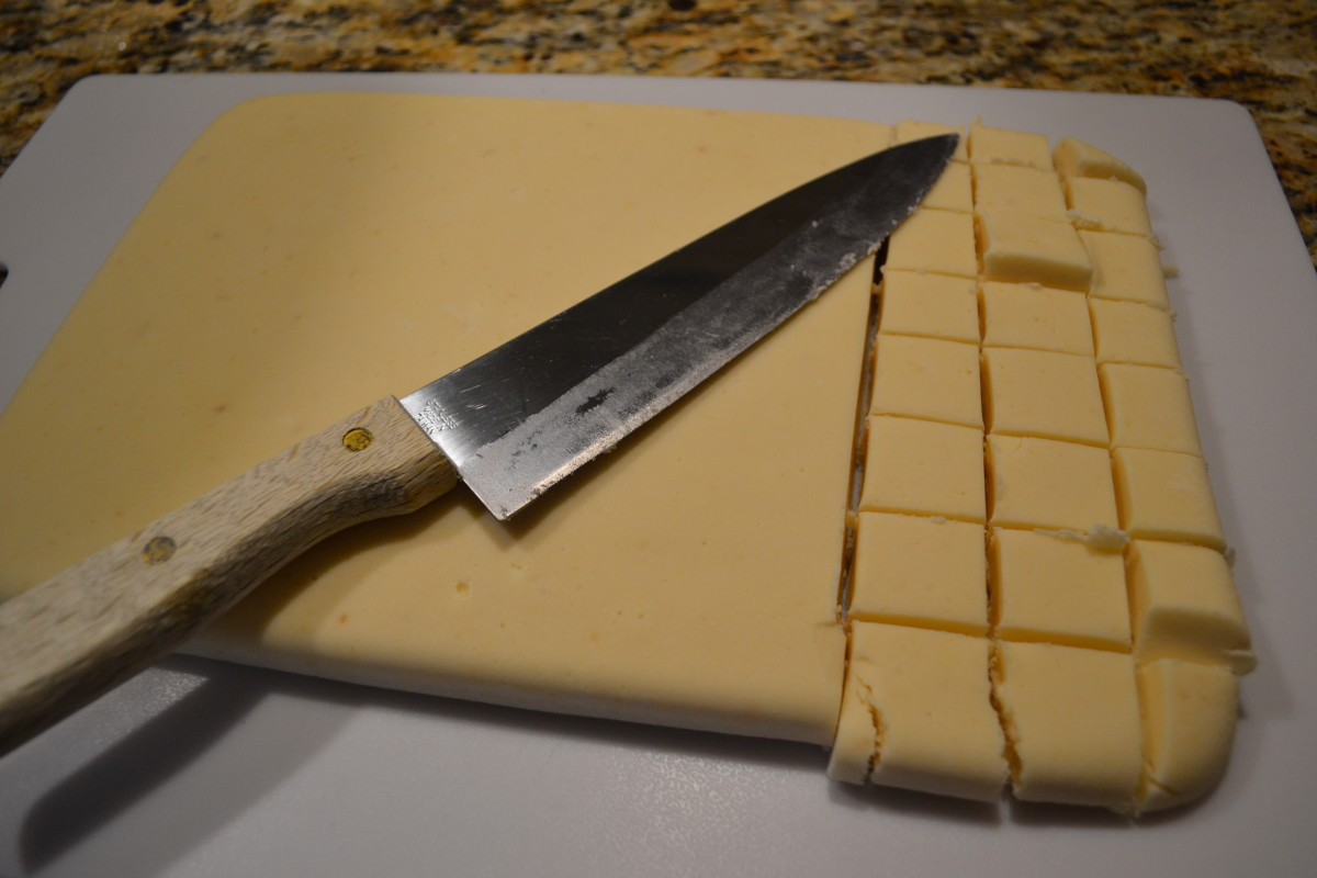 Step Six: Cut into squares and enjoy.