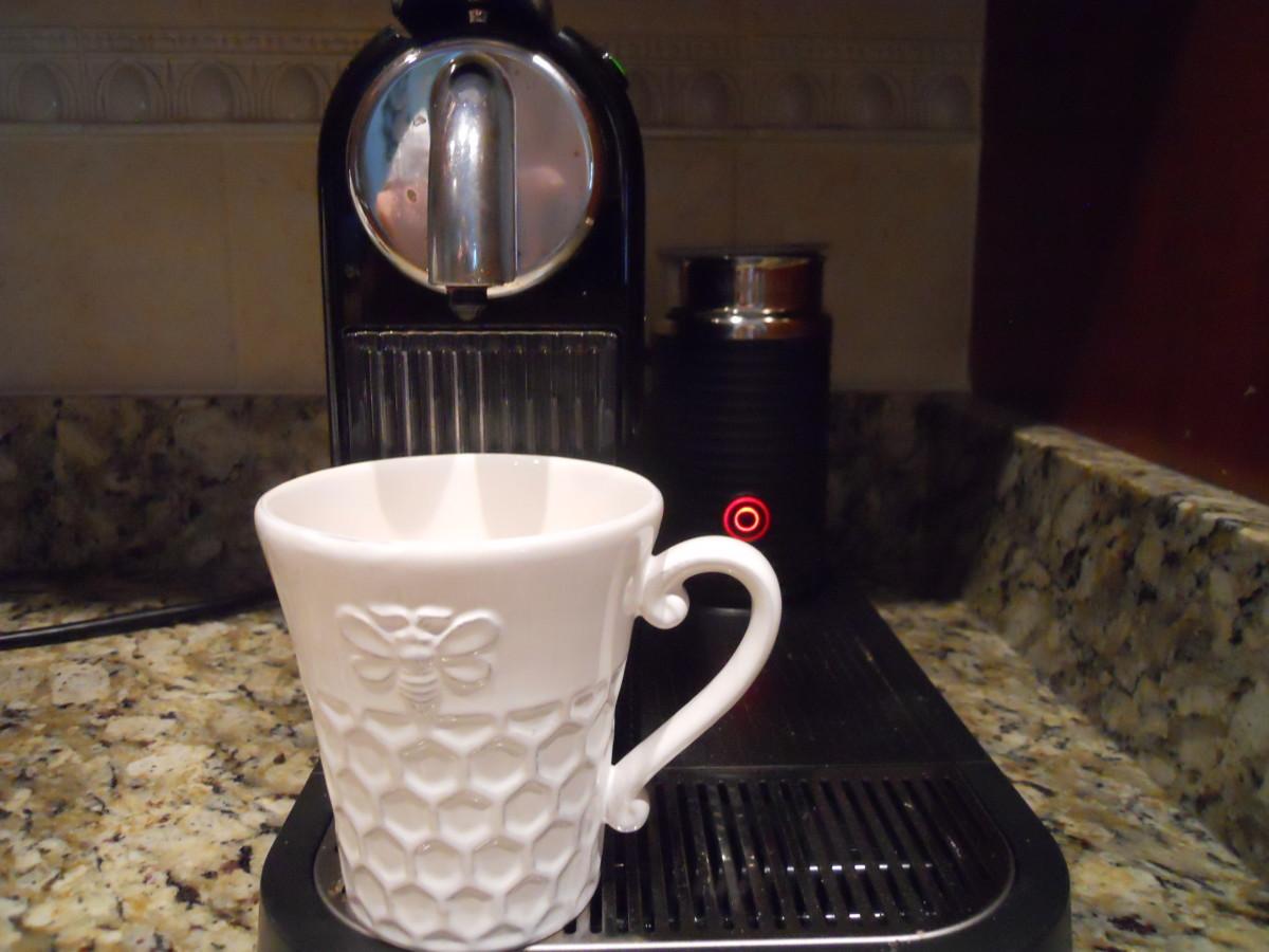 My Nespresso CitiZ w/Milk