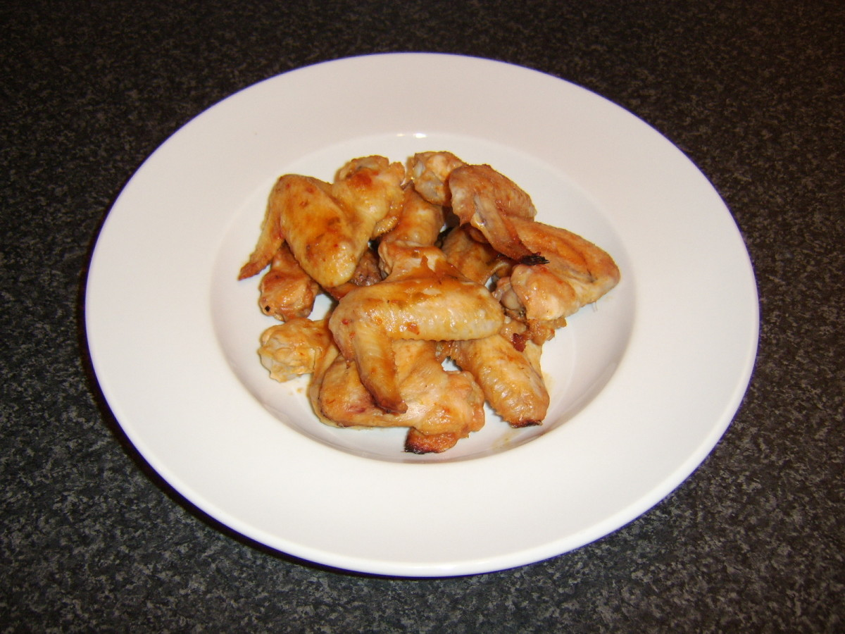 Chicken wings in particular would not be considered a lucky food to eat at New Year