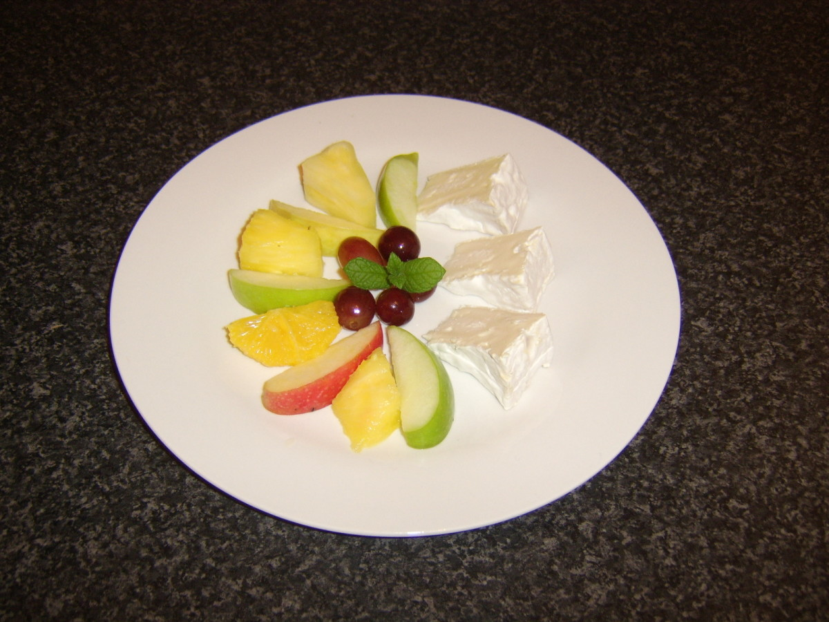 Many different types of fruit are considered lucky to eat at New Year, particularly grapes
