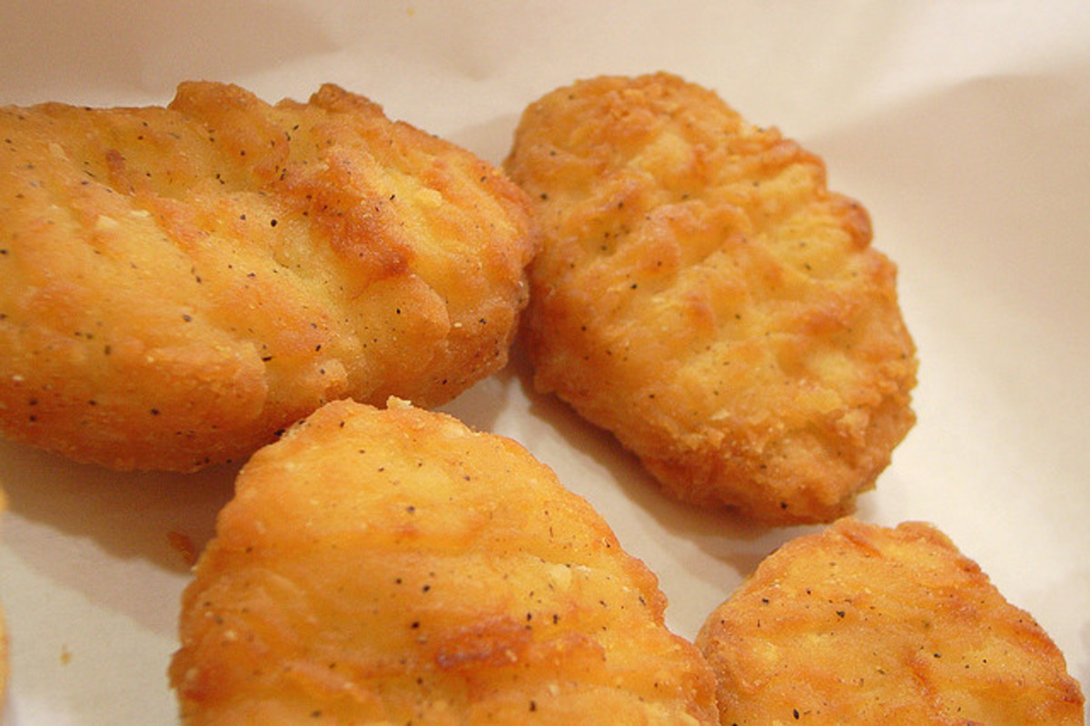 Chicken nuggets.