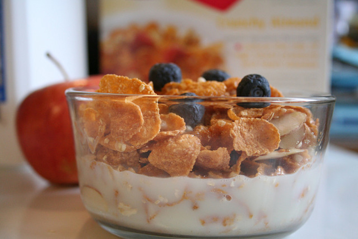 A bowl of cereal with fruit and milk provides a delicious nutritious breakfast, and it is becoming easier to find one that is gluten-free.