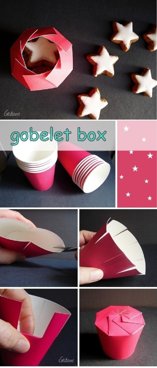 This DIY gobelet box is a great idea!!